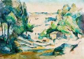 Landscape in the Provence