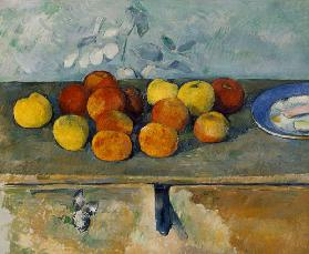 Apples a.Biscuits / Cezanne / c.1879/82