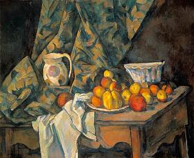 Still-life with apples