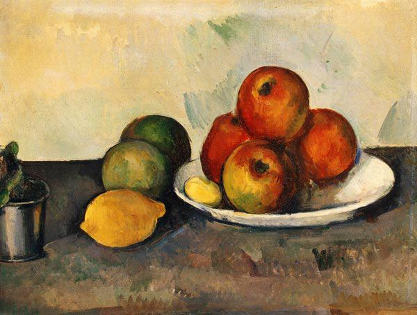 Still life with Apples, c.1890