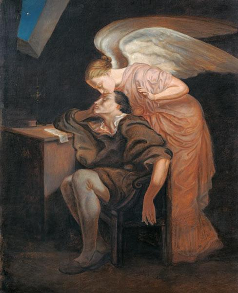 The Dream of the Poet or, The Kiss of the Muse