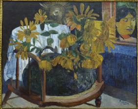 Sunflowers in an Armchair II