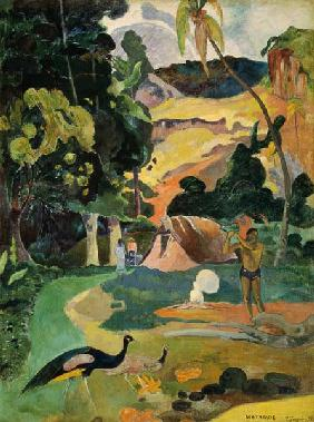 Matamoe or, Landscape with Peacocks