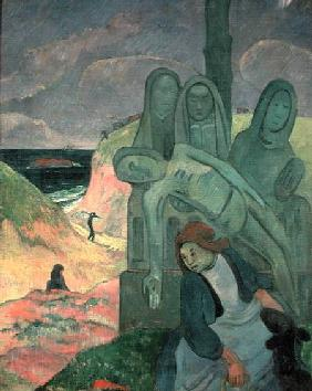The Green Christ (Breton Calvary)