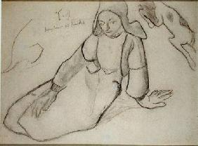 Seated Breton Woman