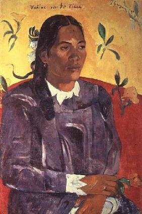 Vahine No Te Tiare (Woman with a Flower)