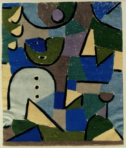 Figur Im Garten 1937 Paul Klee As Art Print Or Hand Painted Oil