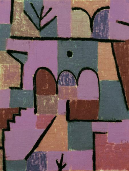 Garten Im Orient 1937167 Paul Klee As Art Print Or Hand Painted