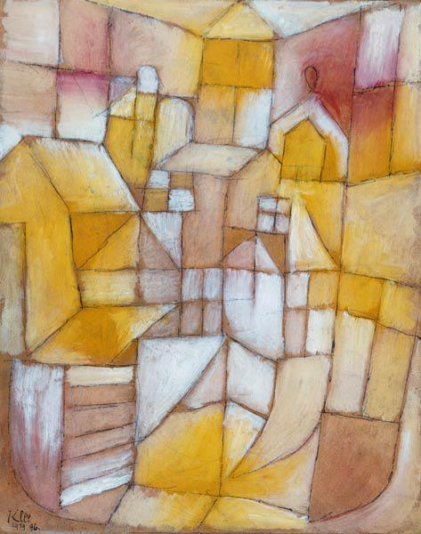 Rosa yellow (window and roofs)