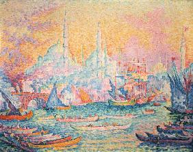 Istanbul, 1907 (oil on canvas)