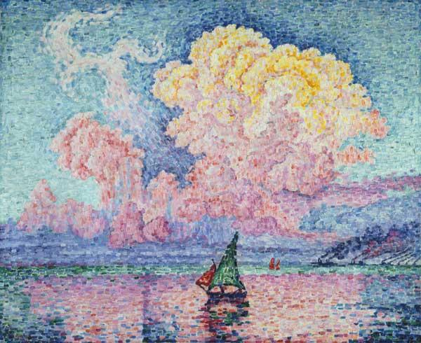 The red cloud (Antibes)