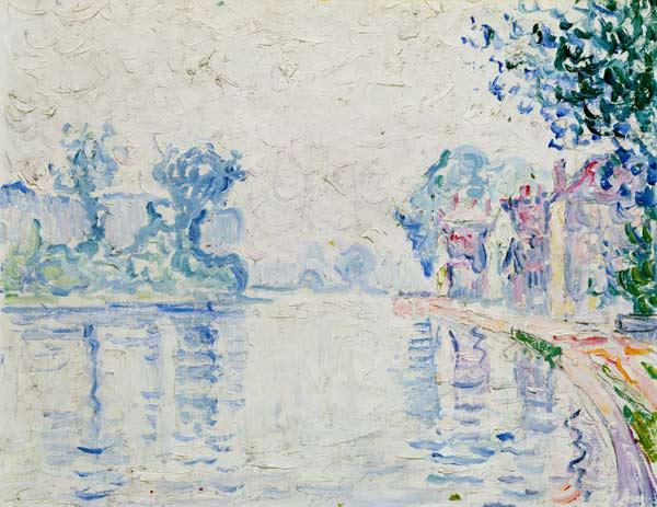 The Seine near Samois (from a series of 4 studies)