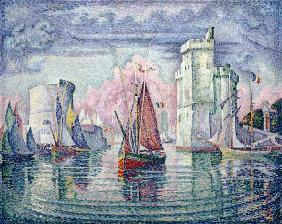 P.Signac / Port of La Rochelle / 1921