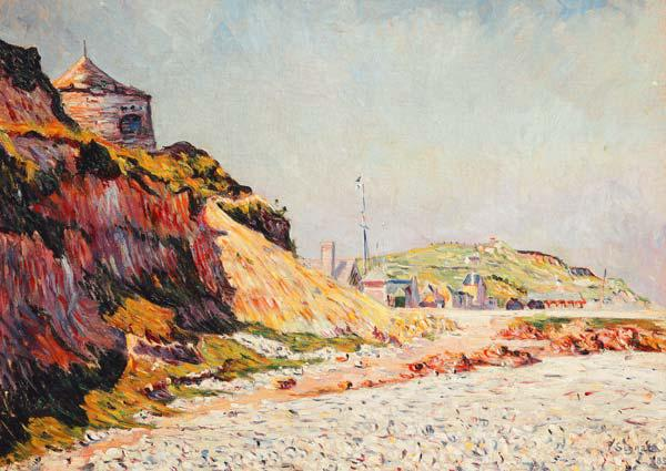 Port-en-Bessin, The Beach