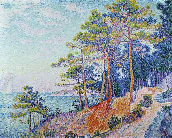 St. Tropez, the Custom's Path, 1905