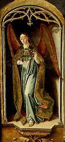 Berruguete Pedro - Angel with the crown of thorns Christi. Thomas altar in the cloister S.Thomas, Avila.