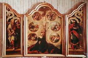 Triptych of the Seven Sorrows of the Virgin