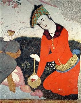 Courtier at the Court of Shah Abbas I (detail)
