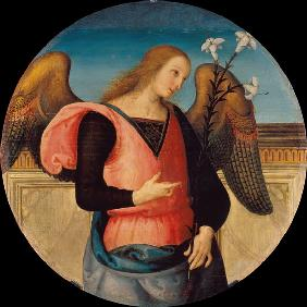 Perugino / Angel of Annunciation / C15th