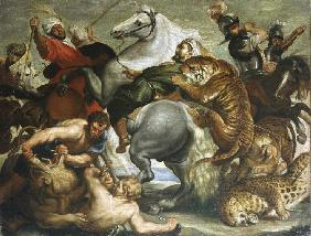 The Tiger and Lion Hunt