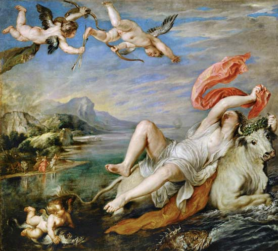 rape of europa after titian peter paul rubens as art