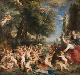 The Feast of Venus (The festival of Venus Verticordia)