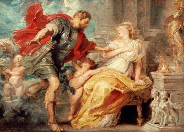 Peter Paul Rubens / Mars and Rhea Silvia