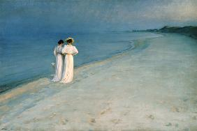 Summer Evening on the Skagen Southern Beach