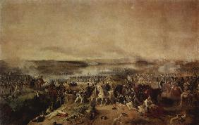 The Battle of Borodino on August 26, 1812