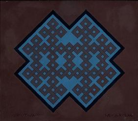 Kolam Malta, 2007 (acrylic on card)