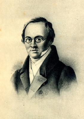 Portrait of the poet Anton A. Delvig (1798-1831)