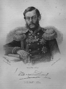 Portrait of Count Dmitry Alekseyevich Milyutin (1816-1912)