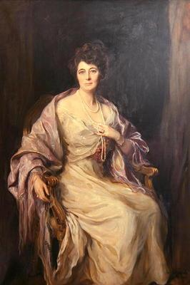 Margaret, Lady Forteviot, 1922 (oil on canvas)