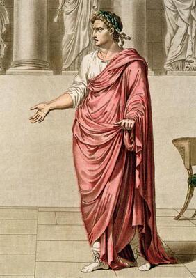 Titus, costume for 'Berenice' by Jean Racine, from Volume II of 'Research on the Costumes and Theatr