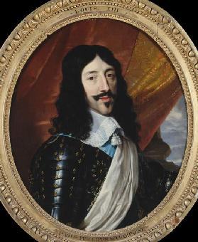 Louis XIII / Painting by Champaigne