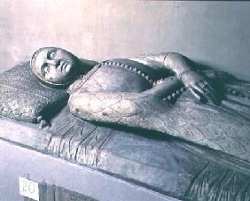 Tomb effigy of Margherita Malatesta, wife of Francesco I Gonzaga of Mantua