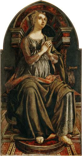 Hope, from a series of panels depicting the Virtues designed for the Council Chamber of the Merchant