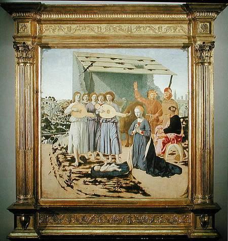 Nativity Piero Della Francesca As Art Print Or Hand