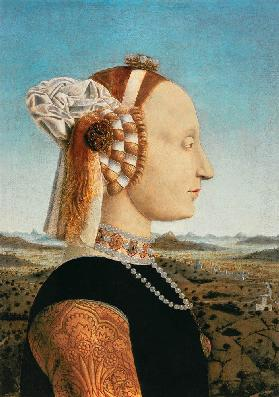 Battista Sforza, Wife of Federico Montefeltro