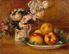 Apples and Flowers