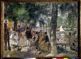 Bathing on the Seine (La Grenouill�re)