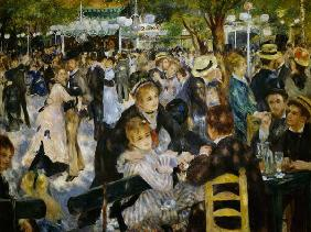 Ball at the Moulin de la Galette 1876