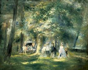 In The Park at Saint-Cloud