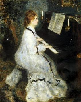 Woman at the piano