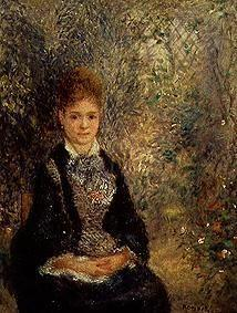 Young woman in the garden (La Grisette)