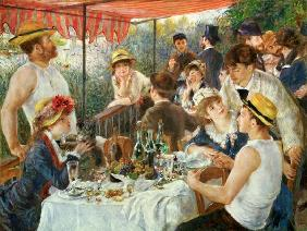 Luncheon of the Boating Party 1881