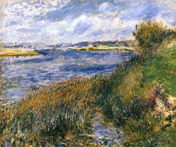 Renoir / The Seine at Champrosay / 1876