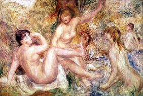 Study for the Large Bathers
