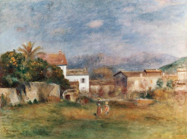 Renoir / View near Cagnes / 1903/05