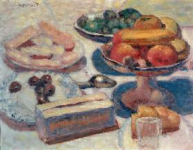 Still Life With Pastries